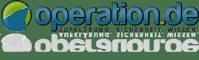 Operationen, Facharzt- und Klinik-Suche, Reha und OP-Videos – operation.de Logo